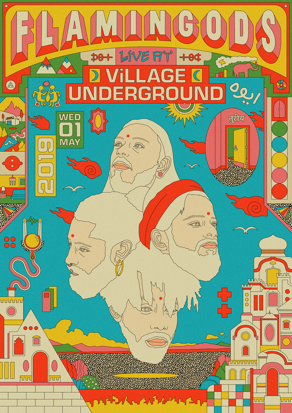Flamingods: Live at Village Underground