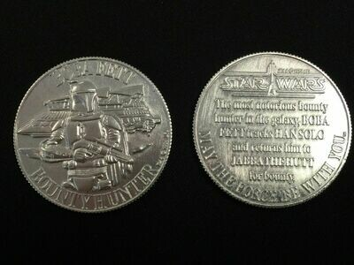 Boba Fett Coin (Silver Aluminum)