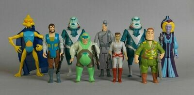 9 Unproduced Vintage Star Wars Droids Figures (DHL Shipping)