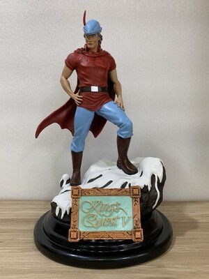 1/6 King Graham Statue (King's Quest V) with DHL Shipping