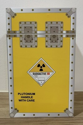 BTTF Plutonium Fuel Cell Canister with Box