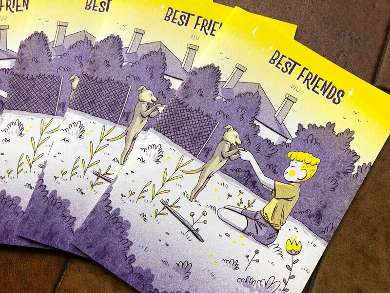 Best Friends Riso Zine