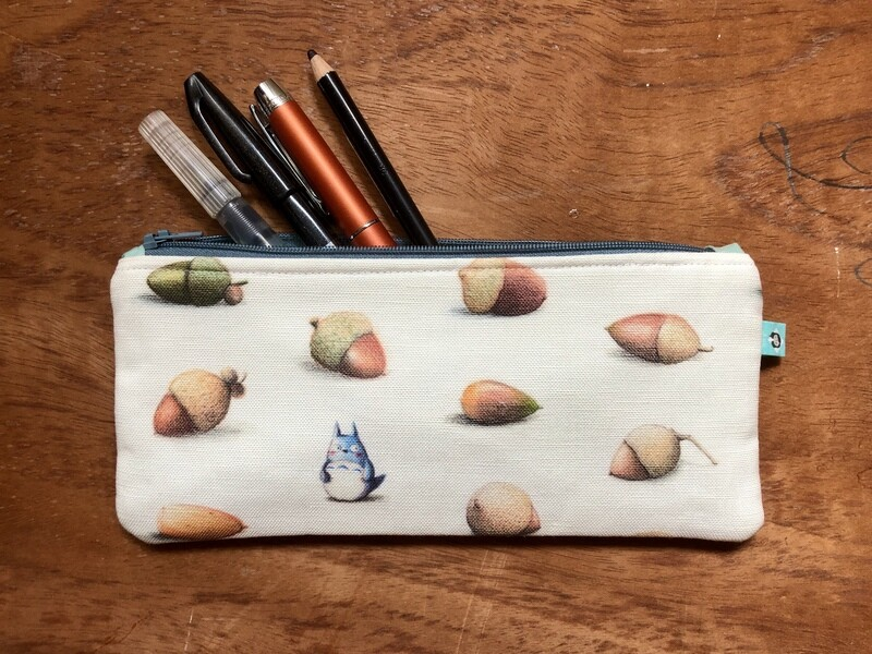Totoro Pencil Case + Notebook