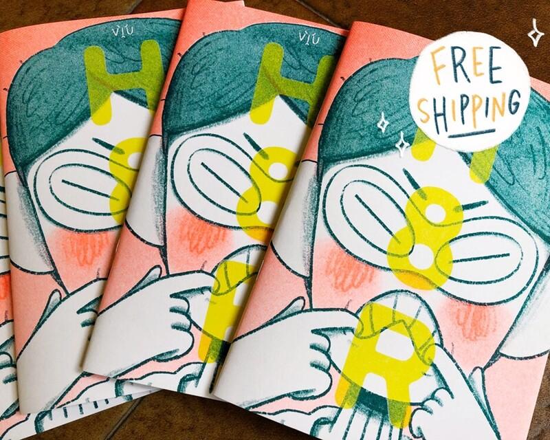 H8R Riso Comic