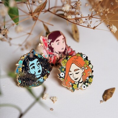 AESTHETIC☆GIRLS | Enamel pins & prints