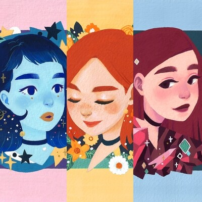 AESTHETIC☆GIRLS | Prints
