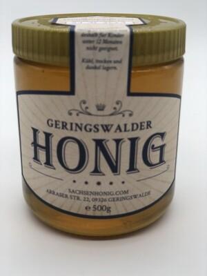 500g Honig Frühtracht aus 2020