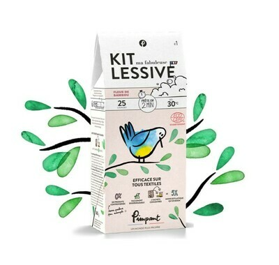 Kit lessive naturelle