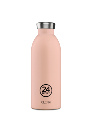 Gourde isotherme Dusty Pink 500ml