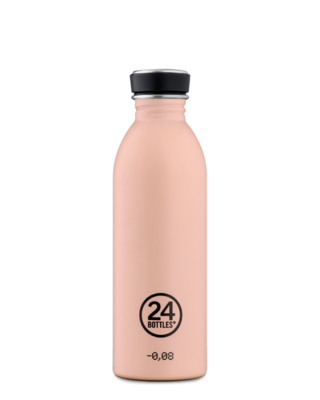 Gourde non isotherme Dusty Pink 500ml