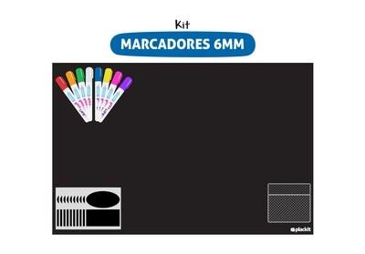 Plackit Kit Marcadores 6MM