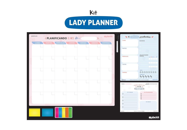 Plackit Kit Lady Planner