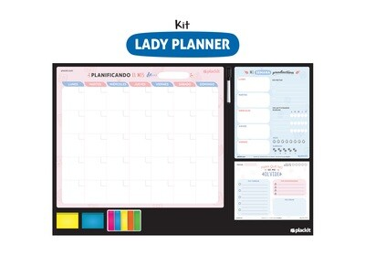 Plackit Kit Lady Planner