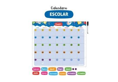 Plackit Calendario Magnético Escolar