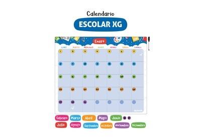 Plackit Calendario Magnético XG
