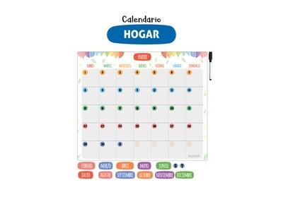 Plackit Calendario Magnético Hogar
