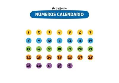 Plackit Números Calendario