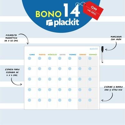 Plackit Calendario Magnético Profesional