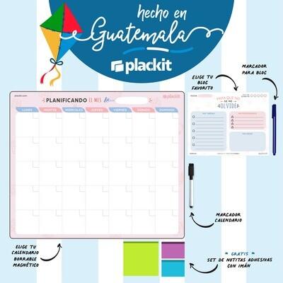 Hecho en Guatemala - Calendario + Bloc