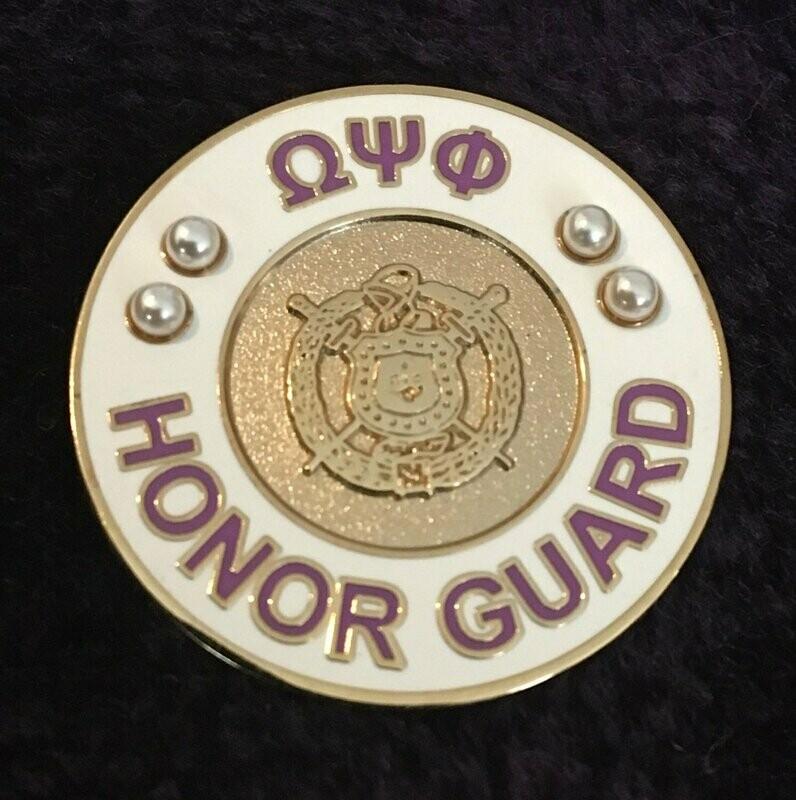 Honor Guard pin