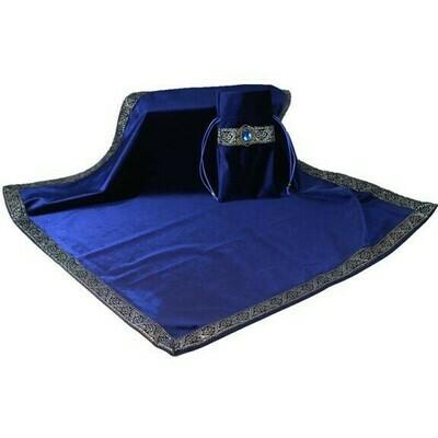 Blue Tarot Bag with table cloth