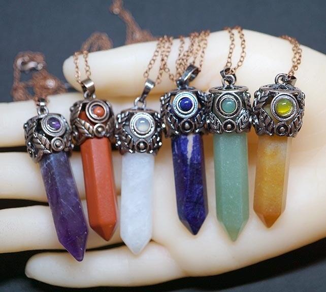 Art Deco and Gemstone Pendants