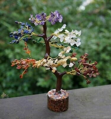 Chakra Gemstone Tree