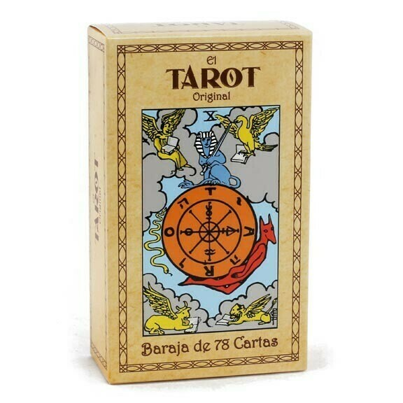 Classic Tarot Deck in Spanish- Baraja de Tarot en Español