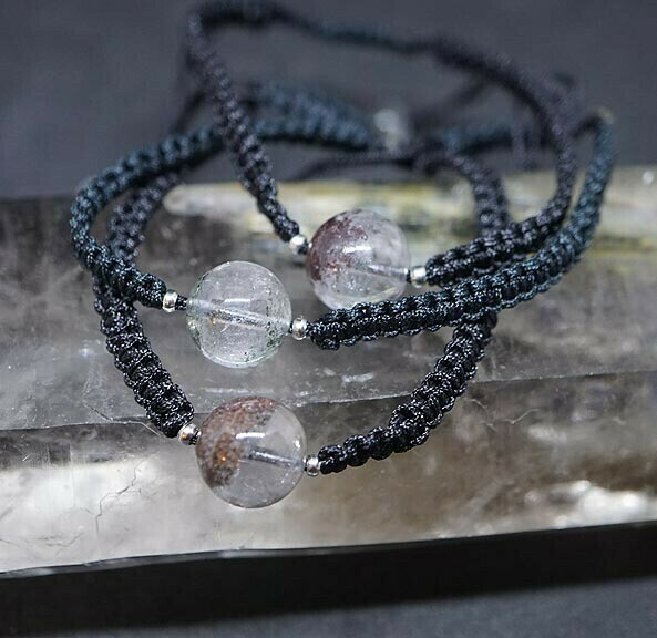 Shaman Quartz Adjustable Bracelet
