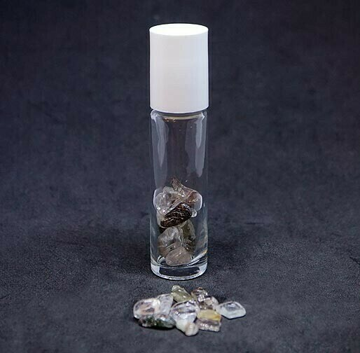 Oil Roller Bottle with Shaman Quartz