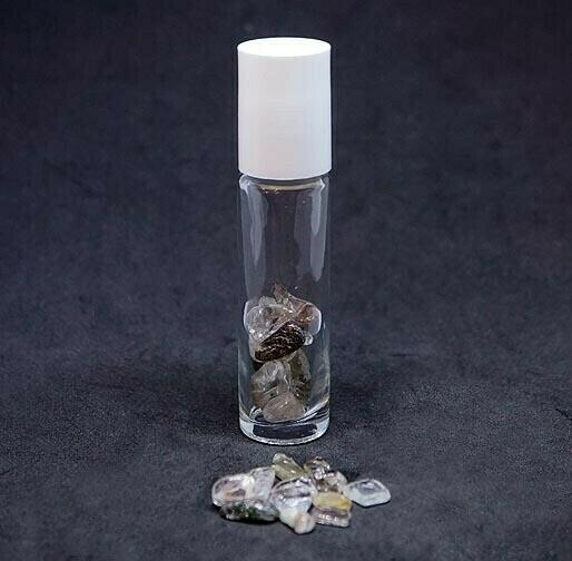 Oil Roller Bottle with Shaman Quartz