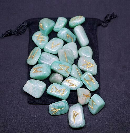 Amazonite Runes