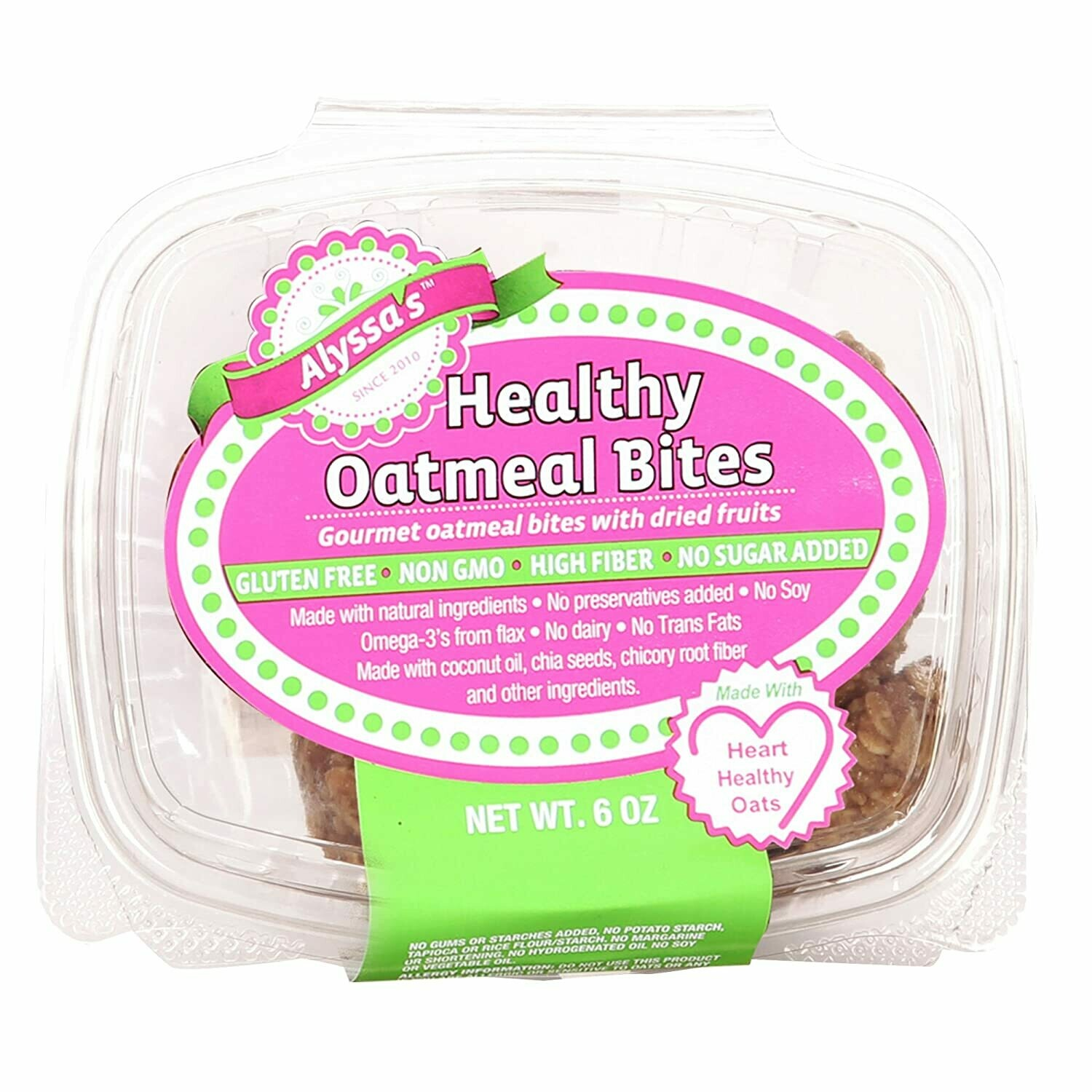 Alyssa's Healthy Oatmeal Bites (8 ct.)