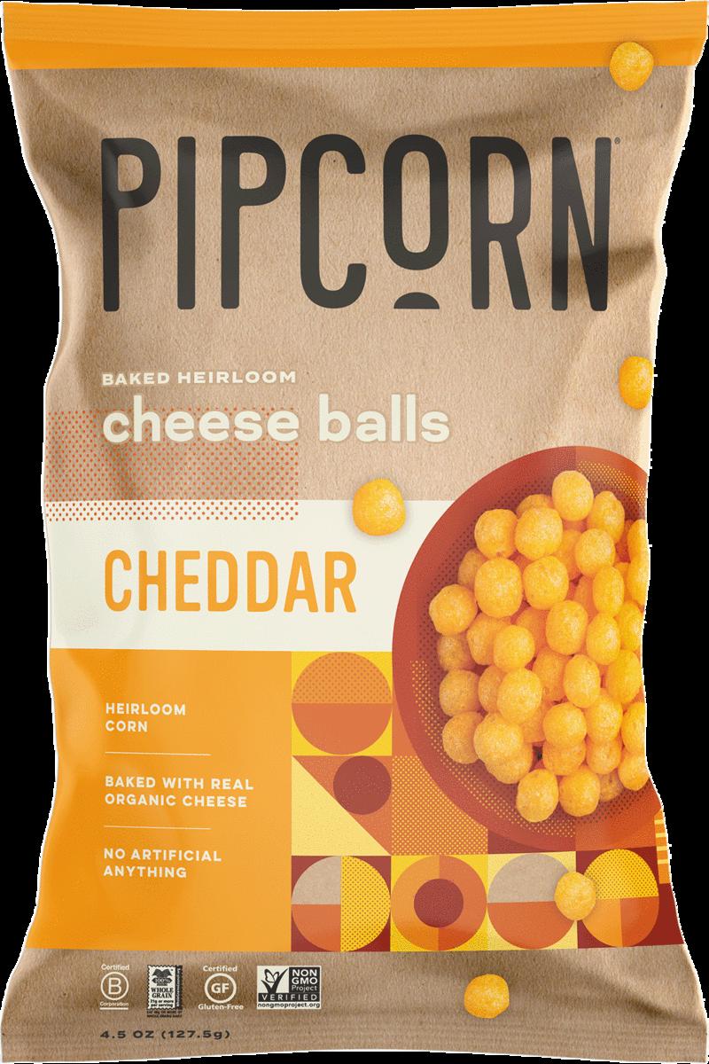 PipCorn Heirloom Cheese Balls