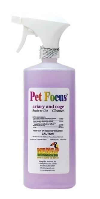 Pet Focus Ready To Use Cleaner by Mango 32 oz