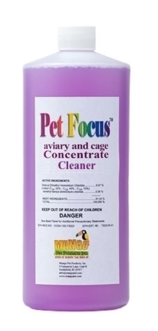 Pet Focus Concentrate Cleaner by Mango 32 oz