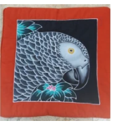 BATIK PARROT PILLOW COVERS
