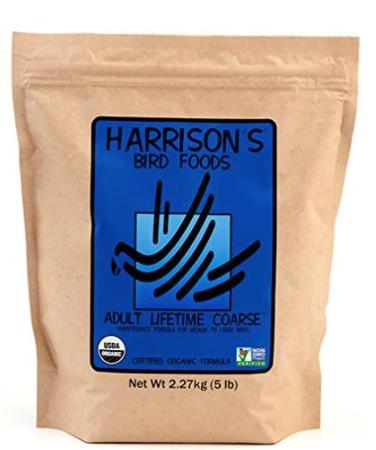 Harrison's Adult Lifetime Coarse  Regular or Pepper Flavor 5 lb bag