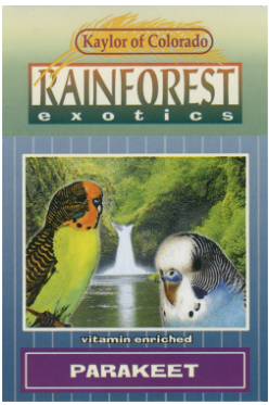 RAINFOREST EXOTIC SEED MIXES by KAYLOR OF COLORADO