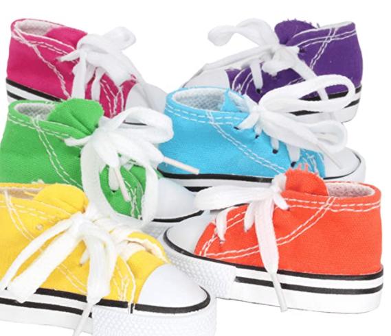 Sneaker Foot Toys (Pack 6)
