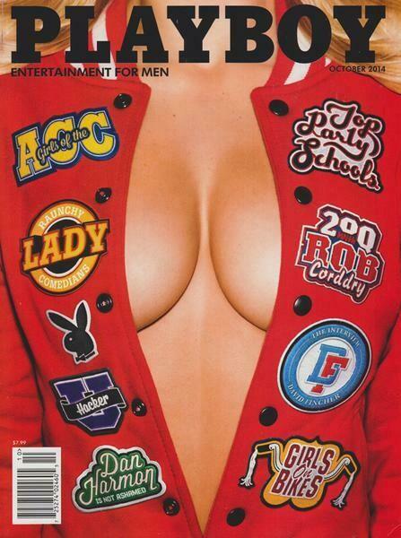 Playboy Magazine Back Issue October 2014