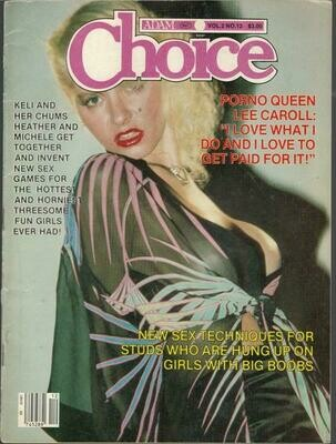 Adam Choice Magazine Vol 2 Number 12 December 1983