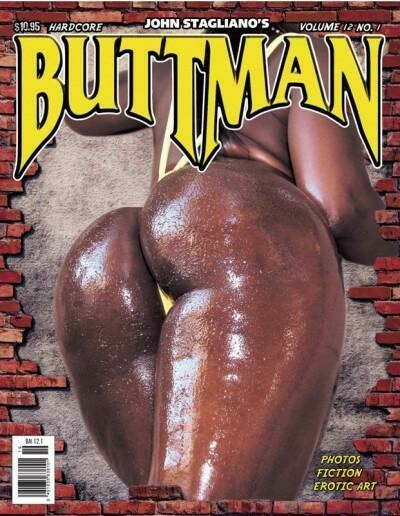 Buttman Adult Magazine V12N1 2009