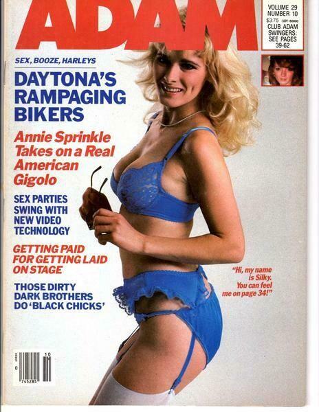 Adam Adult Magazine Annie Sprinkle Vol.29 #10 1985