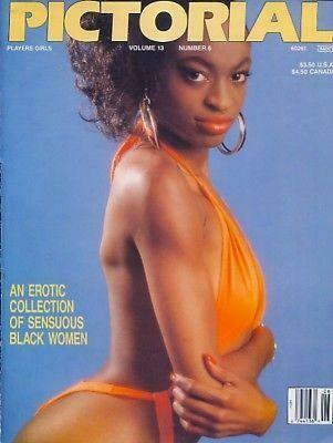 Players Pictorial Black Adult Magazine V13N6