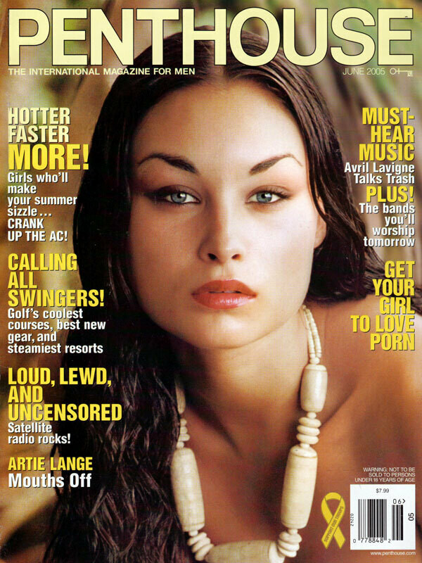 Penthouse Magazine June 2005