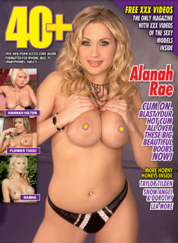 40+ #99 2019 MILF Magazine Alanah Rae
