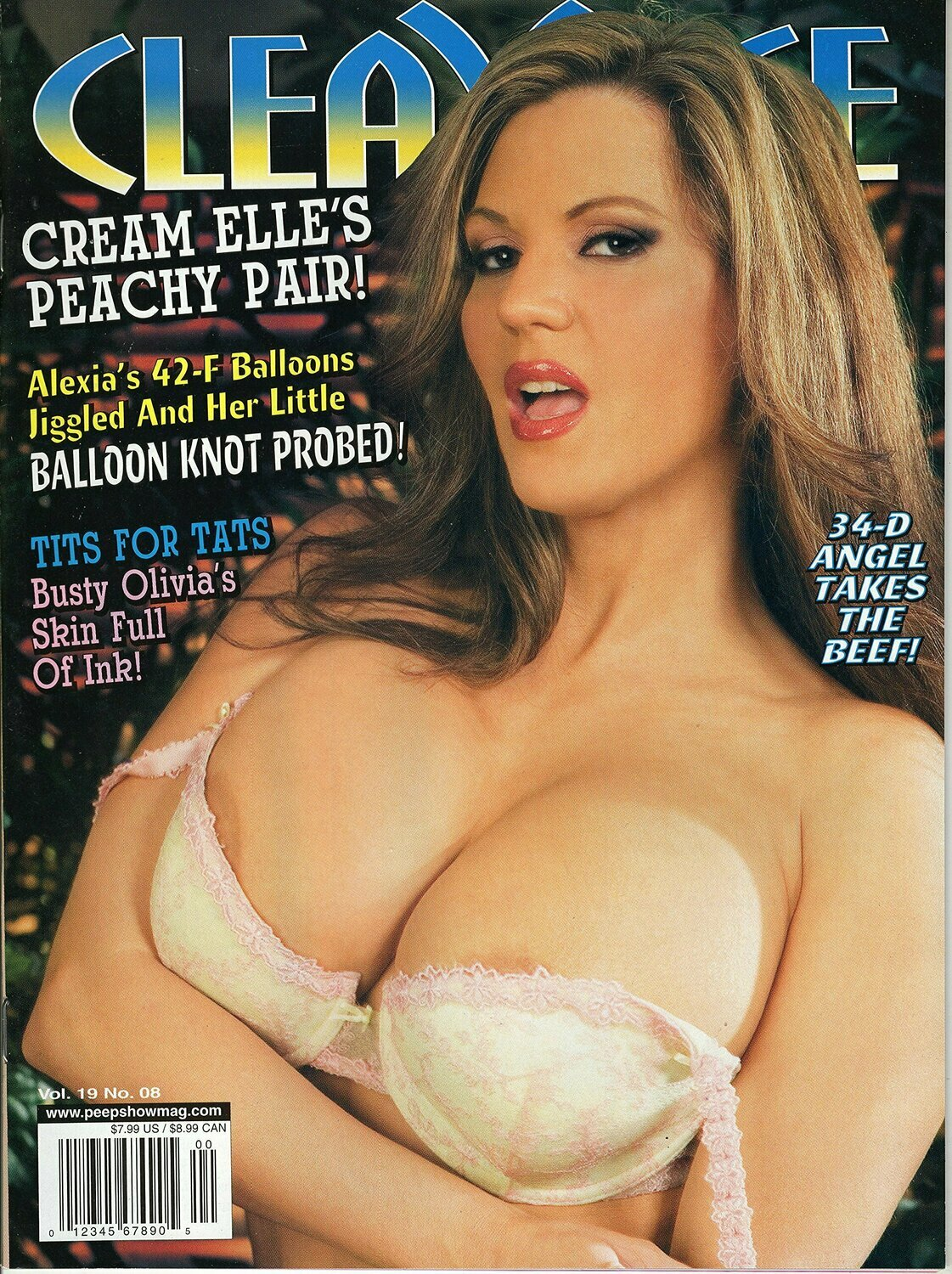 Cleavage Magazine Vol. 19 N 8 2009 BIG TITS CLASSIC SABINA LEIGH