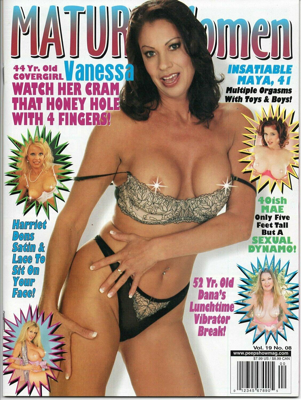 Mature Women Magazine V19N8 2007 Vanessa