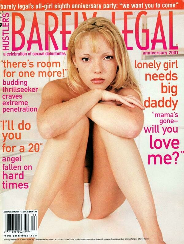 Barely Legal Magazine Back Issue Anniversary 2001